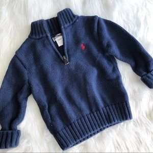 Ralph Lauren • Navy Pullover Sweater